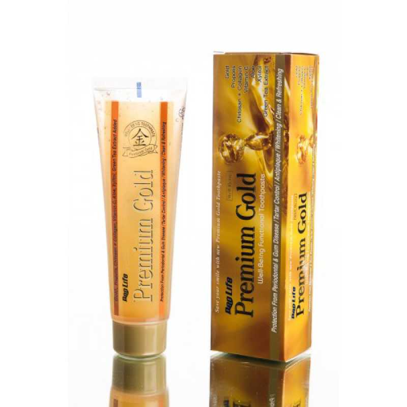 Зубная паста Зубная паста Deo Life Premium Gold