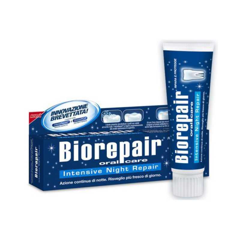 Зубная паста BIOREPAIR INTENSIVE NIGHT REPAIR Ночное интенсивное восстановление 75ml