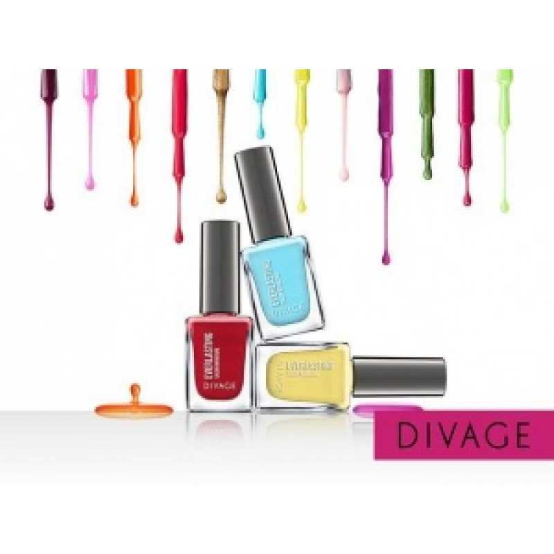 Divage Лак для ногтей Гелевый Everlasting 17 светло-фиолетовый