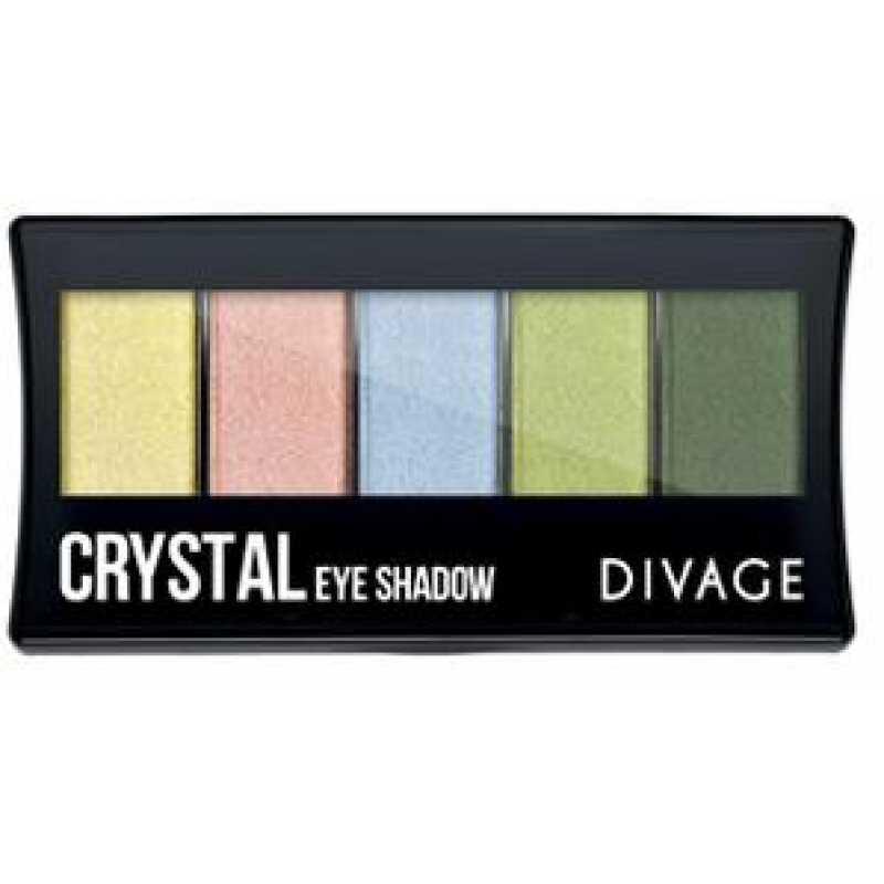 Divage Палетка теней для век Cristal