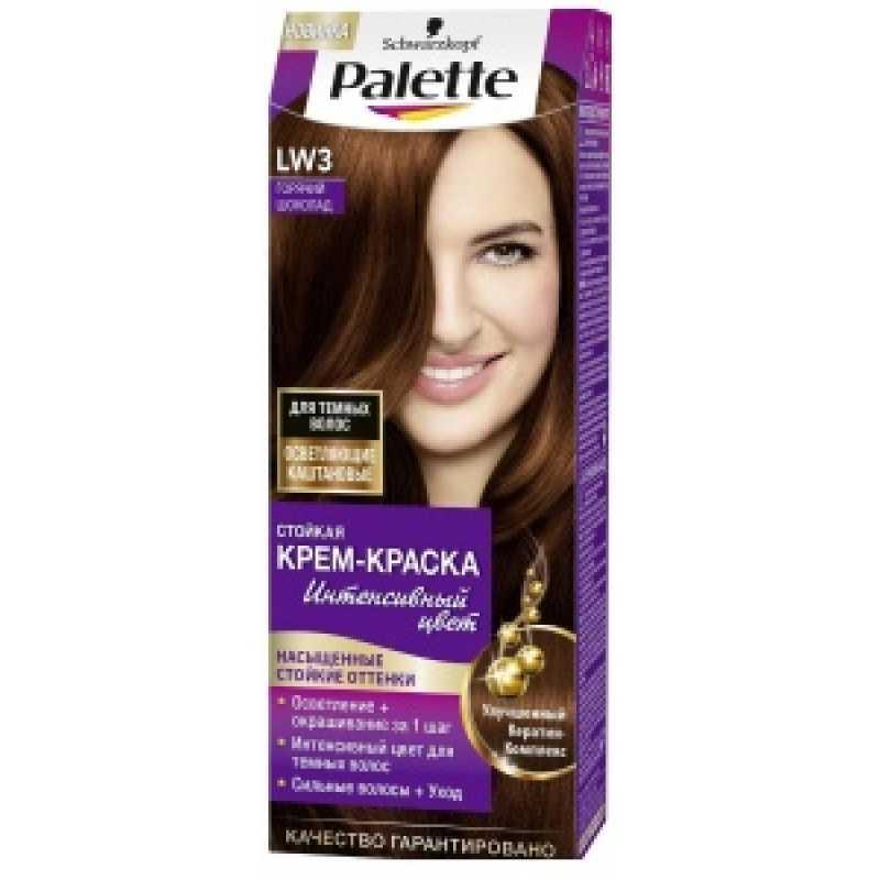 PALETTE Краска для волос LW3 Горячий шоколад