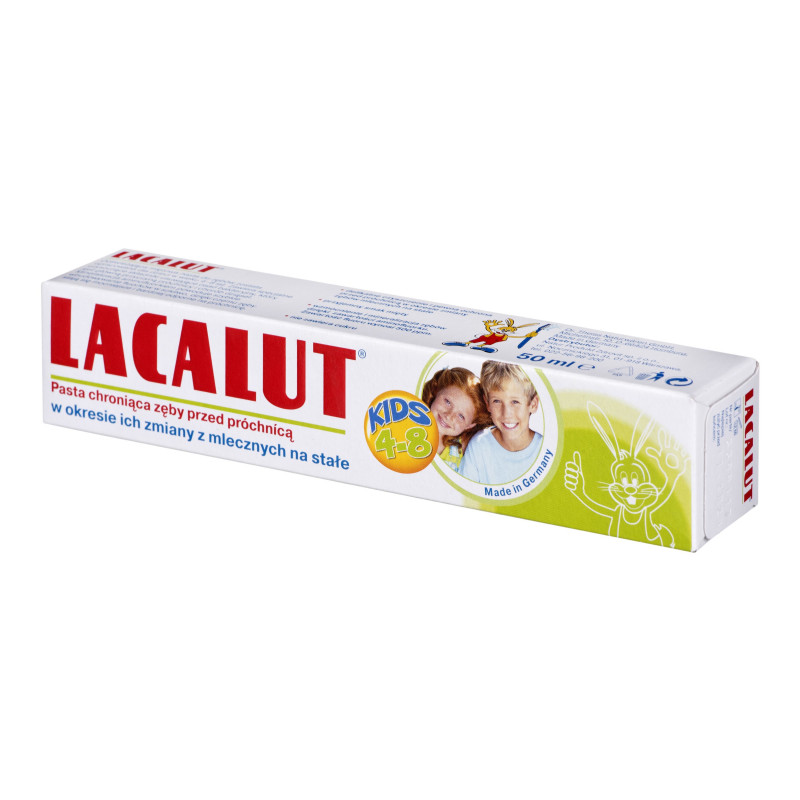 Лакалют (LACALUT) Зубная паста 50мл Kids ( от 4 до 8 лет)