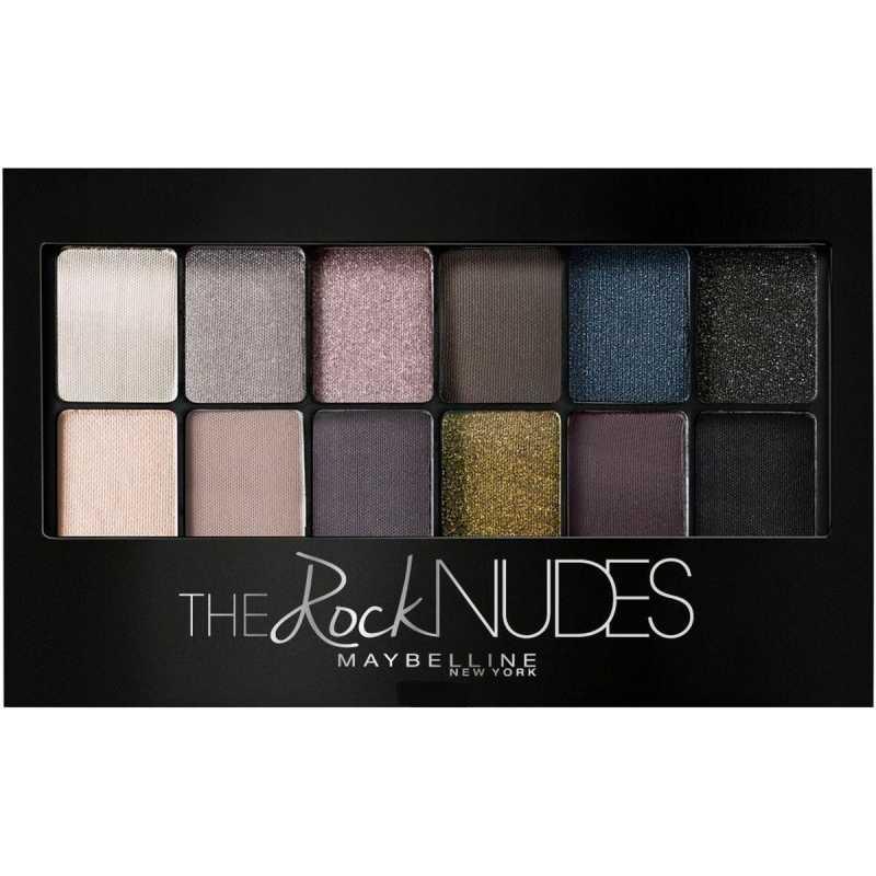 Палетка теней для век Maybelline New York  the Rock Nudes