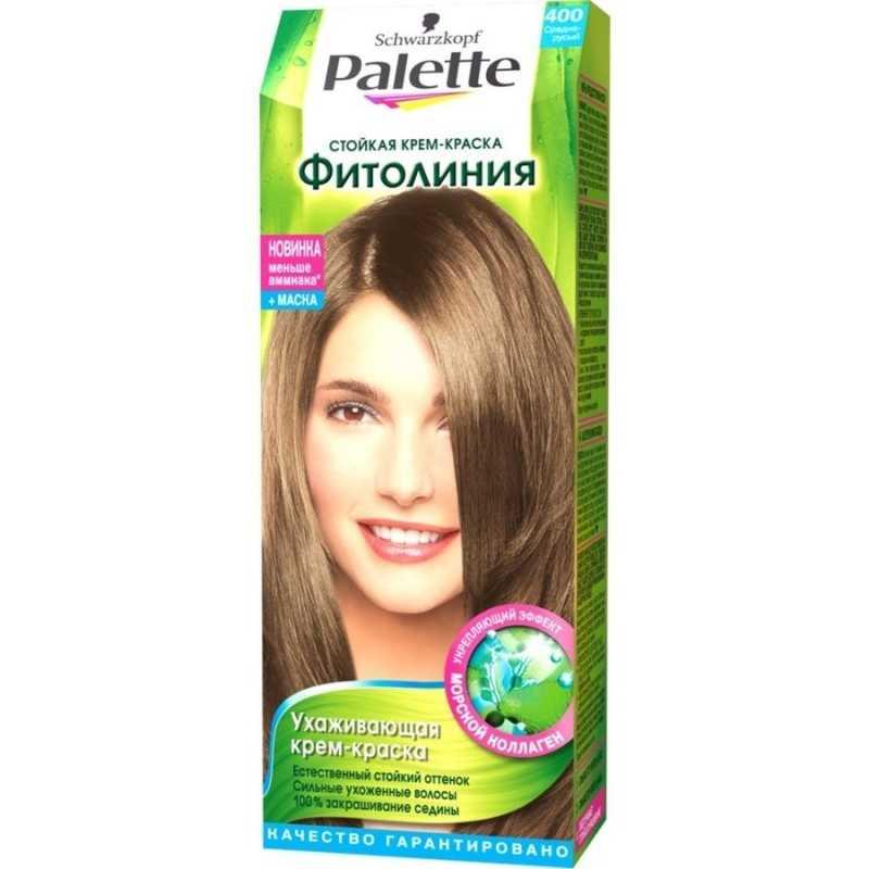 Краска для волос Palette Фитолиния 400 Средне-русый, 50 мл