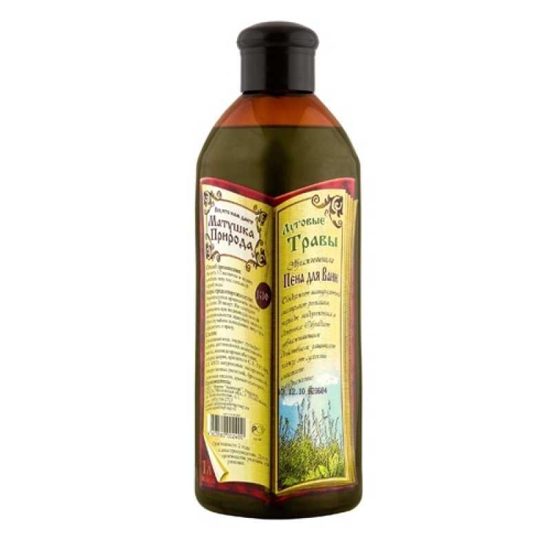 Пена для ванн Матушка Природа Луговые травы, 1 л