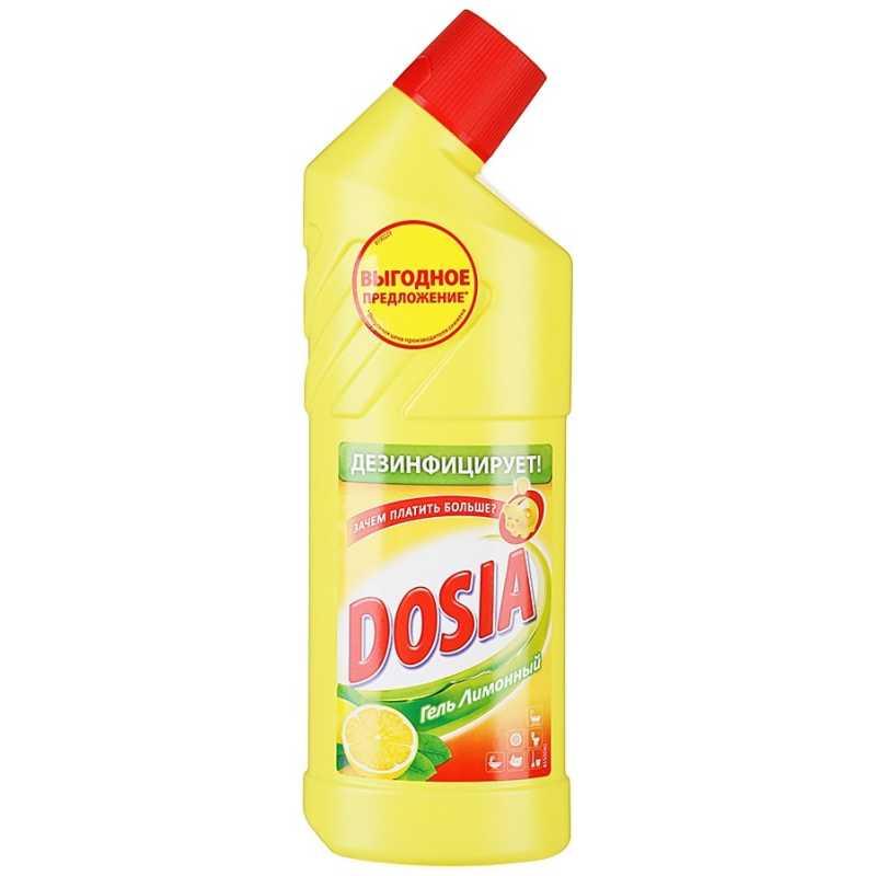 Гель чистящий Dosia lemon, 750 мл