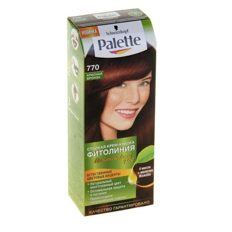 Краска для волос Palette Фитолиния 770 Красная Бронза, 50 мл