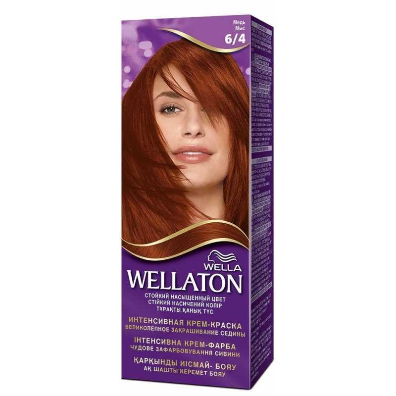 Краска для волос Wellaton 6/4 Медь