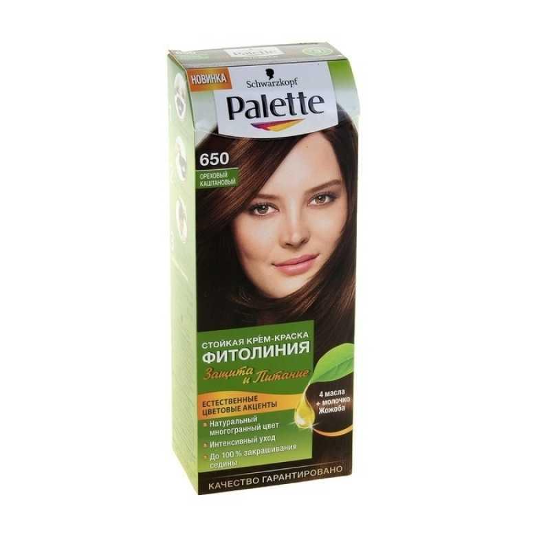 Краска для волос Palette Фитолиния 650 Ореховый каштановый, 50 мл