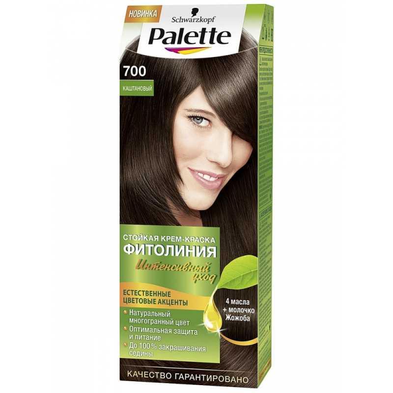 Краска для волос Palette Фитолиния 700 Каштановый, 50 мл
