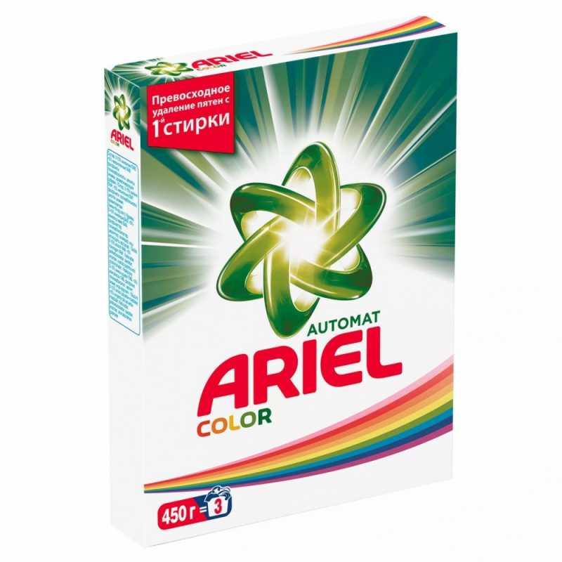 Стиральный порошок Ariel Color, автомат, 450 гр