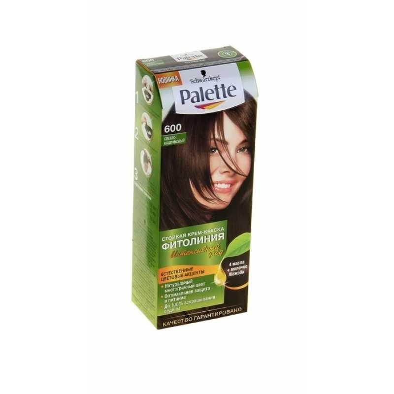 Краска для волос Palette Фитолиния 600 Светло-каштановый, 50 мл