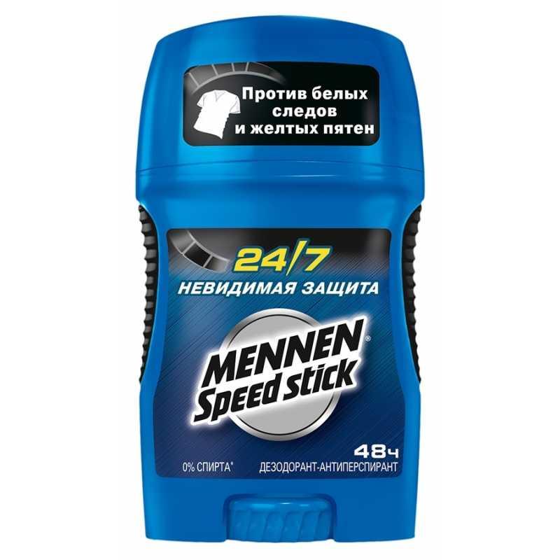 Дезодорант-антиперспирант карандаш Mennen Speed stick 24/7 Невидимая защита, 50 гр