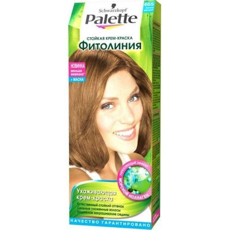 Краска для волос Palette Фитолиния 465 Золотистый средне-русый, 50 мл
