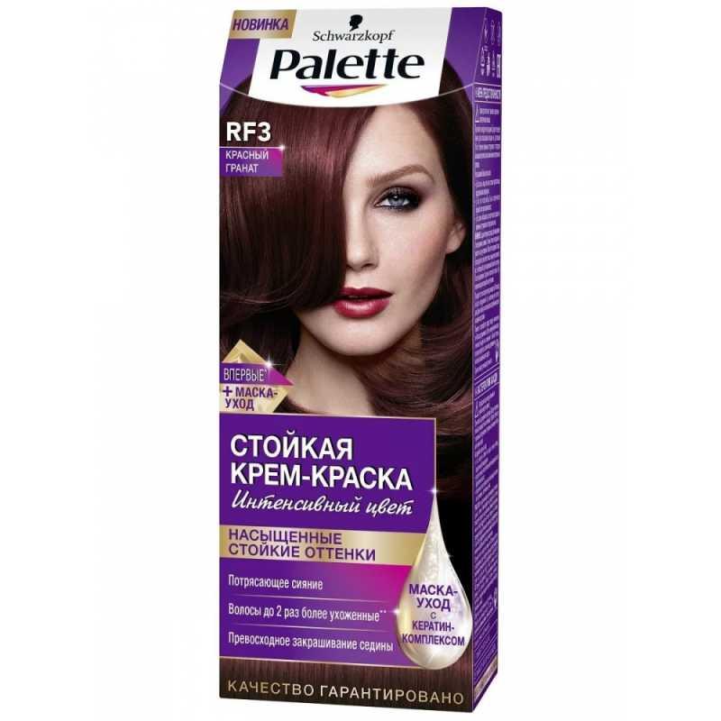 Краска для волос Palette RF3 Красный гранат, 50 мл