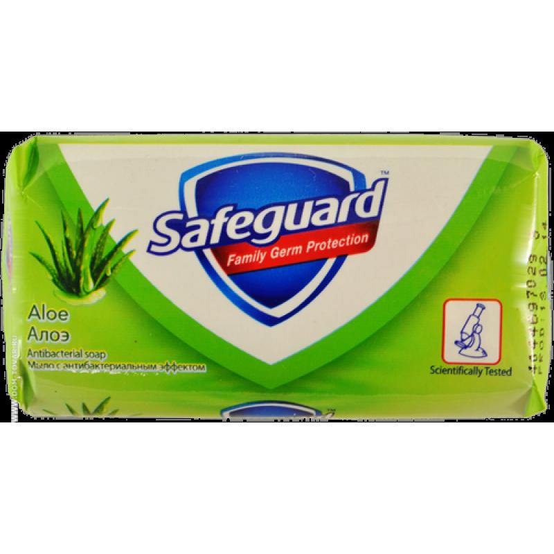 Мыло туалетное Safeguard Алоэ, 90 гр