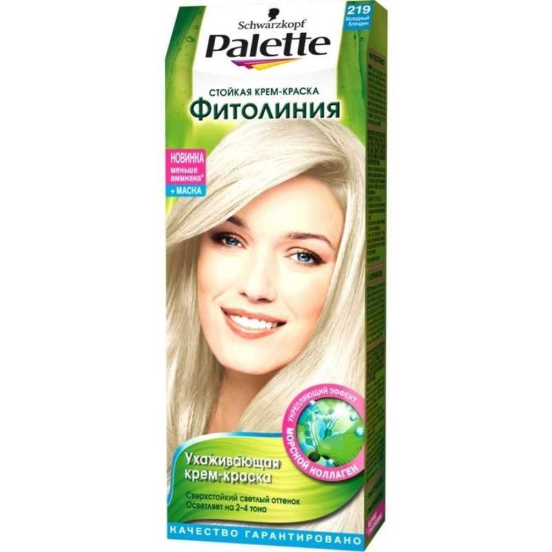 Краска для волос Palette Фитолиния 219 Холодный блондин, 50 мл