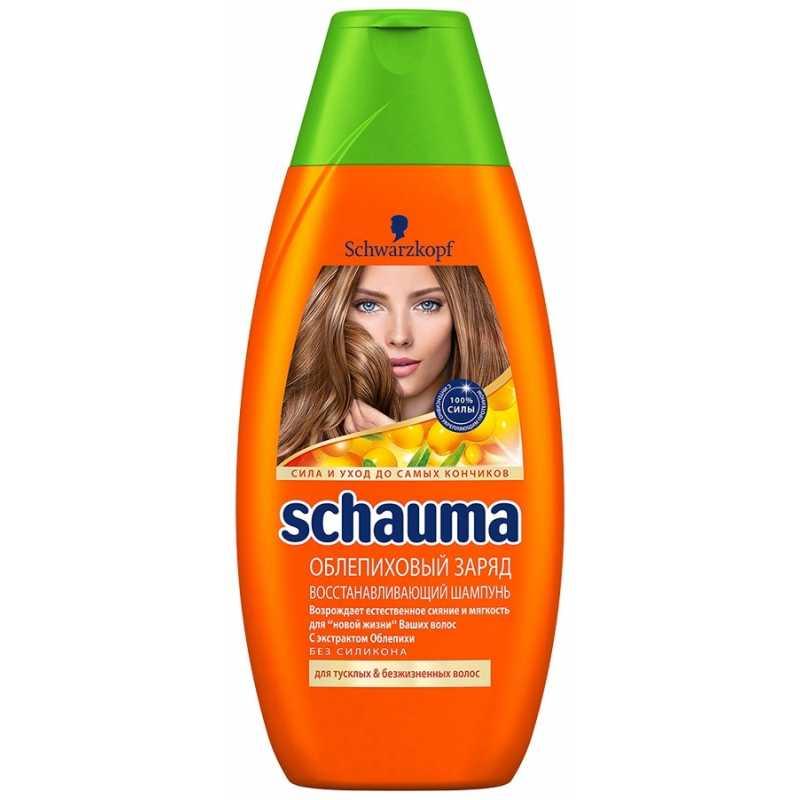 Шампунь Schauma Облепиховый Заряд для тусклых и безжизненных волос, 380 мл