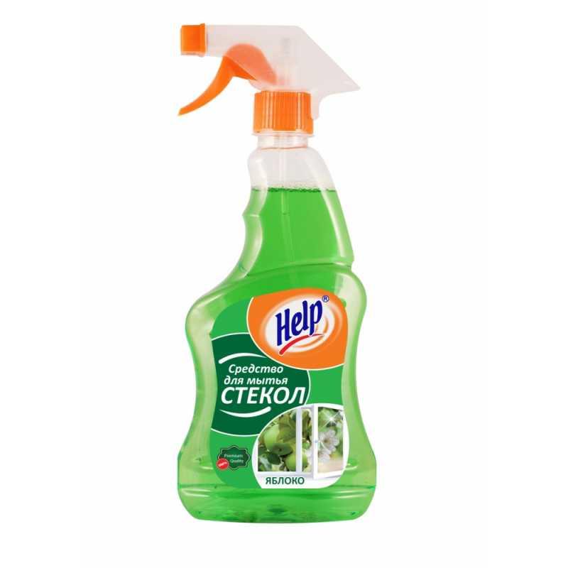 Средство для мытья стекол Help Яблоко, 750 мл