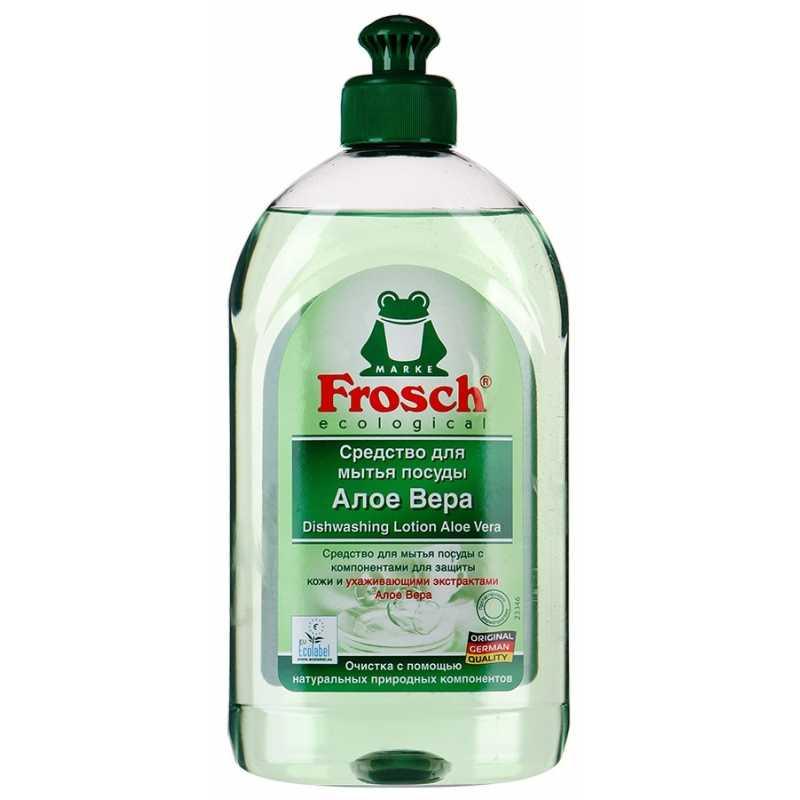 Средство Frosch для мытья посуды Алоэ Вера, 500 мл