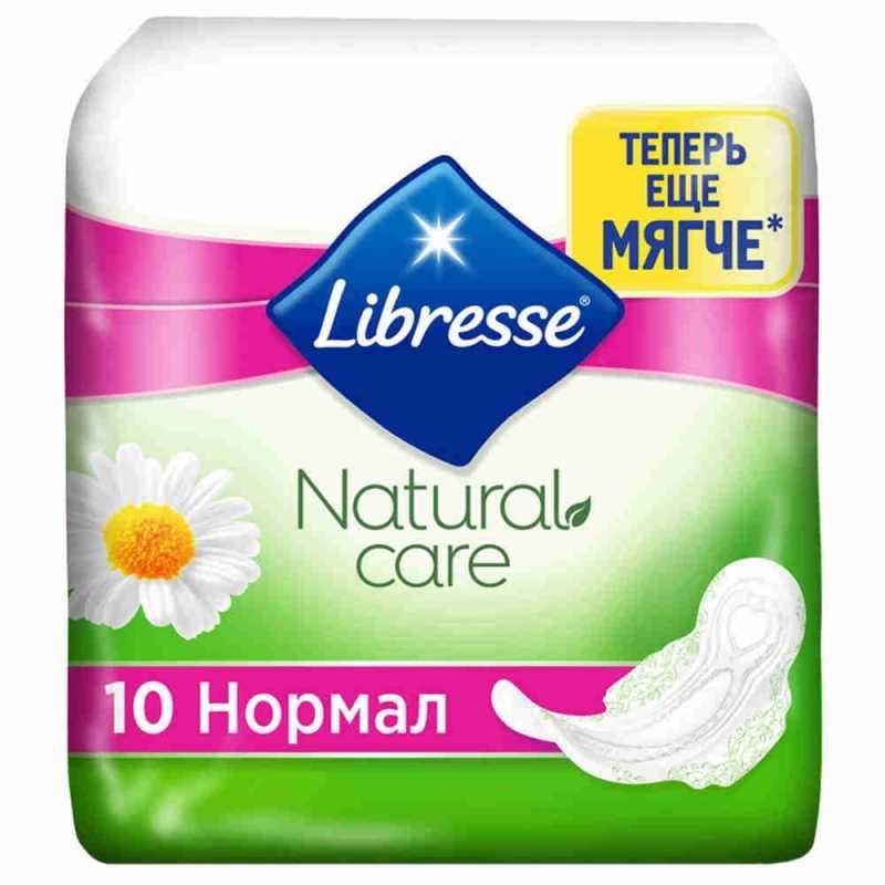 Прокладки Libresse Natural Normal, 10 шт
