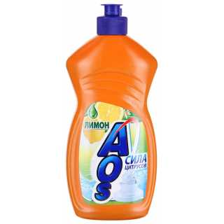 Средство для мытья посуды Aos Лимон, 500 мл