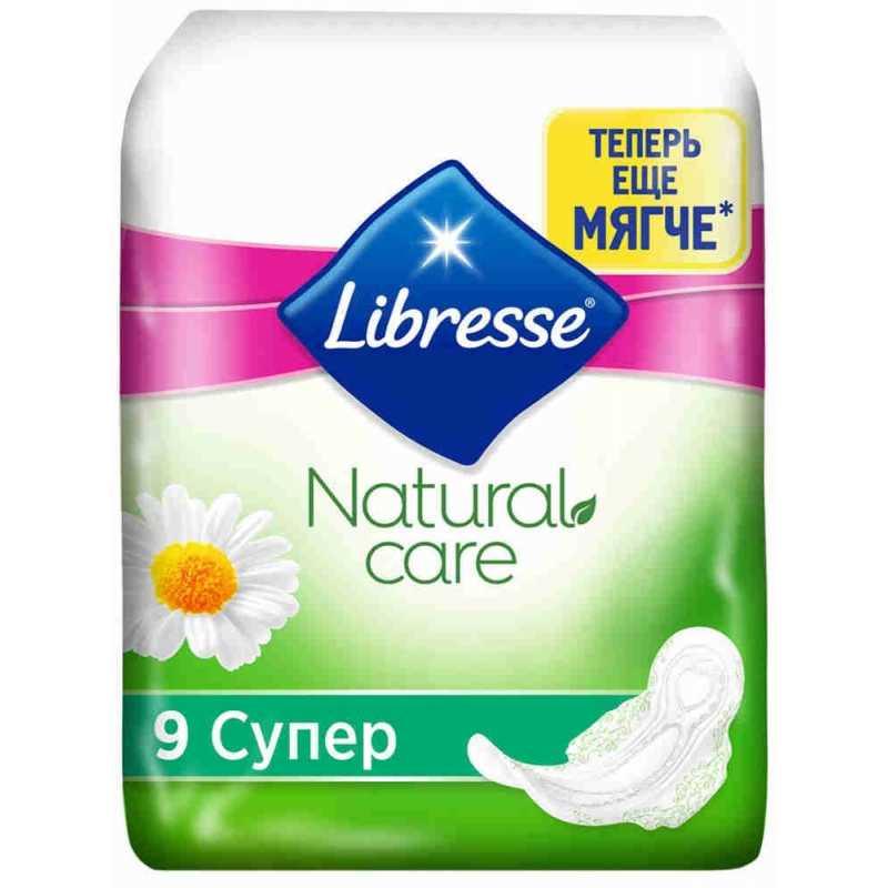 Прокладки Libresse Natural Супер, 9 шт