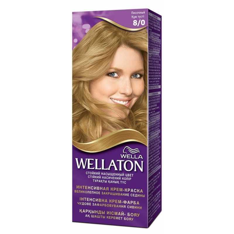 Краска для волос Wellaton 8/0 Песочный