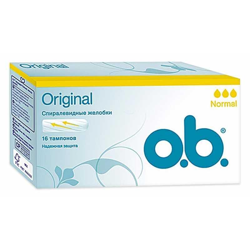 Тампоны o.b. Normal, 16 шт