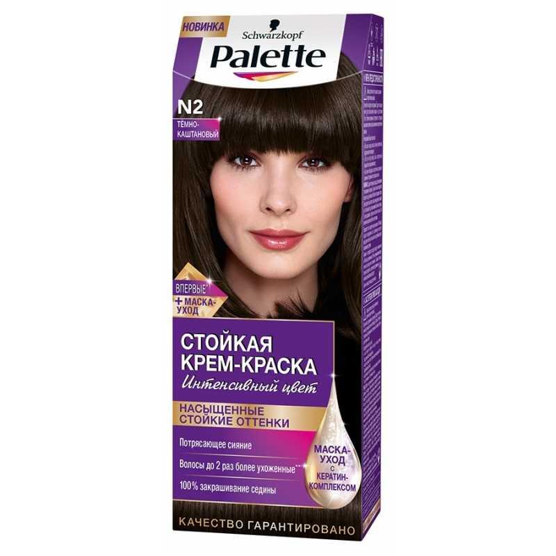 Краска для волос Palette N2 Темно-каштановый, 50 мл