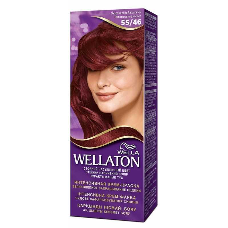 Краска для волос Wellaton 55/46 Экзотический красный