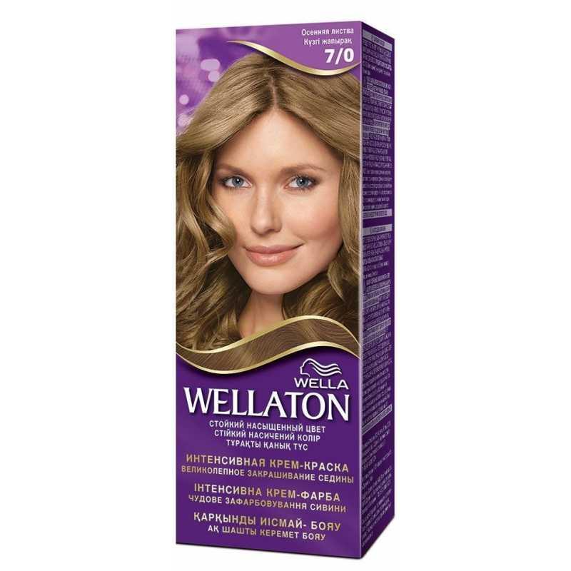 Краска для волос Wellaton 7/0 Осенняя листва