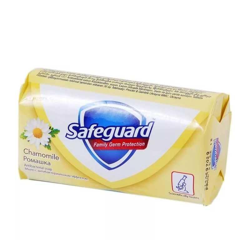 Мыло туалетное Safeguard Ромашка, 90 гр