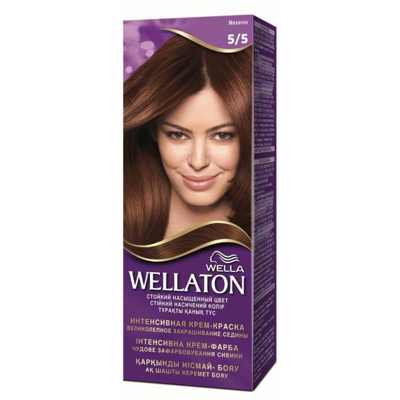 Краска для волос Wellaton 5/5 Махагон