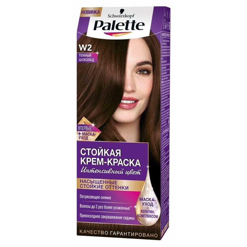 Краска для волос Palette W2 Темный шоколад, 50 мл