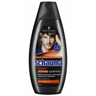 Шампунь Schauma для мужчин Спорт для волос и тела, 380 мл